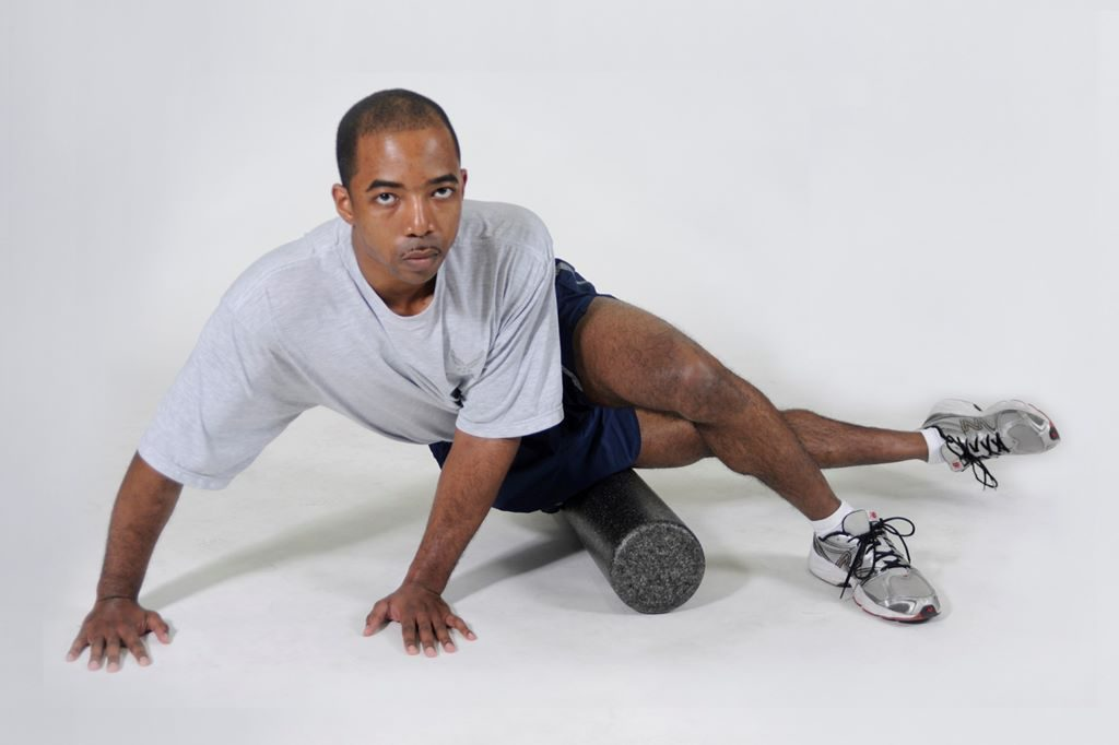 Foam Rolling for outside of the thighs