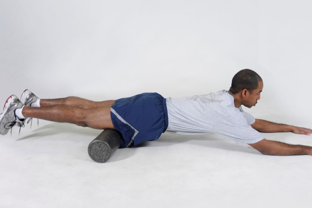 Foam rolling for quads