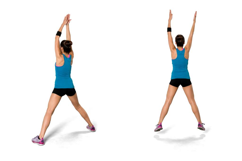 Jumping Jacks for stamina building